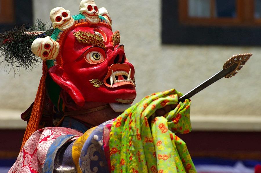 Танец Чам, Ладакх, Индия