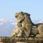 Лев. Храм Тунгнатх, Индия
