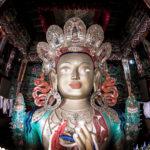 Статуя Майтрейи, Тикси Гомпа, Ладакх, Индия