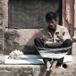 Рождение веревочек для аарти. Харидвар, Индия - Kartzon Dream - тревел фото, тревел видео, авторские путешествия, фототуры