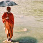 Садху на Ганге. Харидвар, Индия - Kartzon Dream - тревел фото, тревел видео, авторские путешествия, фототуры