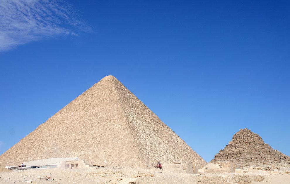 Великая Пирамида. Пирамиды Гизы, Каир