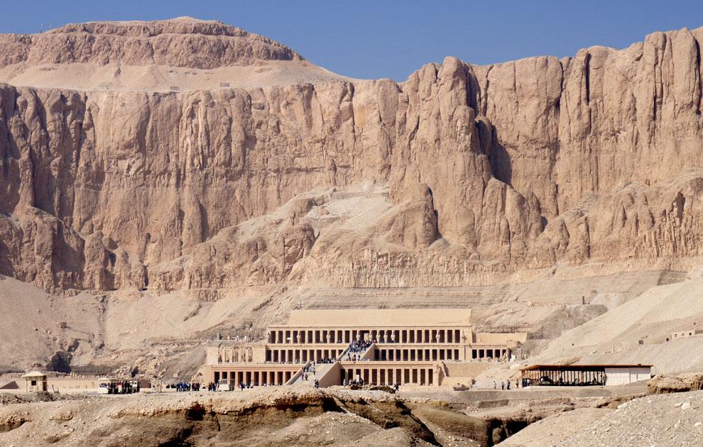 Храм Хатшепсут, Дейр эль-Бахри