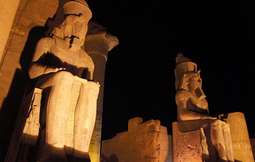 Ночной храм Луксора