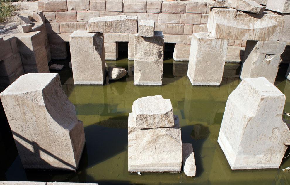 Осирион. Храм Осириса в Абидосе