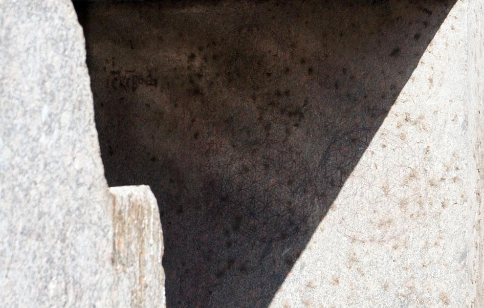 Цветок Жизни в Осирионе. Храм Осириса в Абидосе