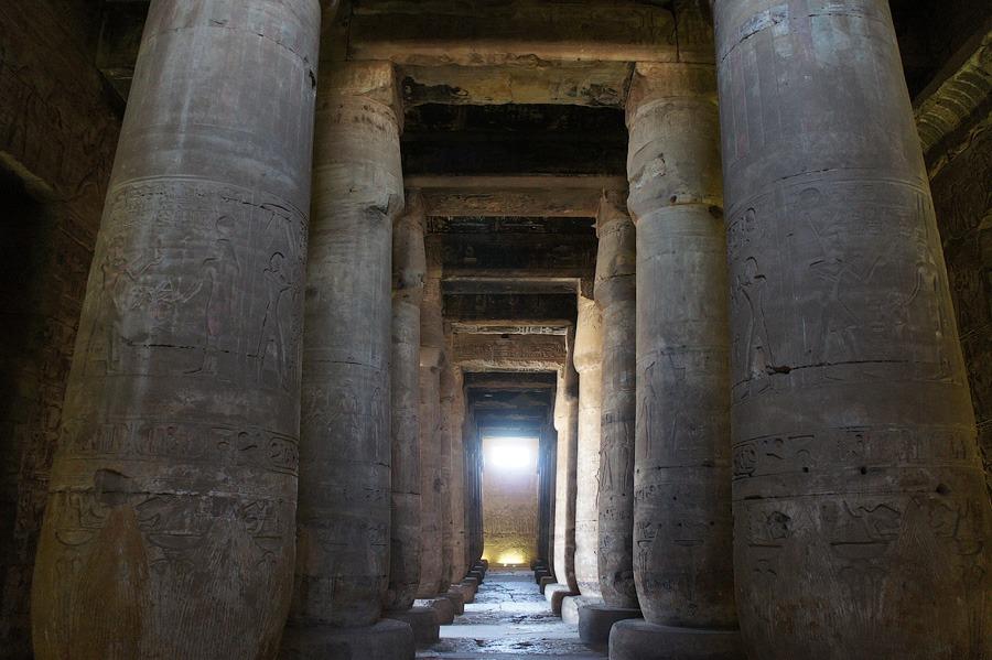 Храм Сети I в Абидосе. Египет 2012