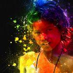 Девочка с монеткой. Цифровая Гуашь. - Kartzon Dream - цифровая графика, тревел фото, тревел арт, тревел видео, авторские туры, фототуры