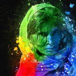 Женщина. Цифровая Гуашь. - Kartzon Dream - цифровая графика, тревел фото, тревел арт, тревел видео, авторские туры, фототуры
