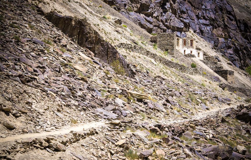 Долина Лунгнак. Трек к монастырю Пуктал