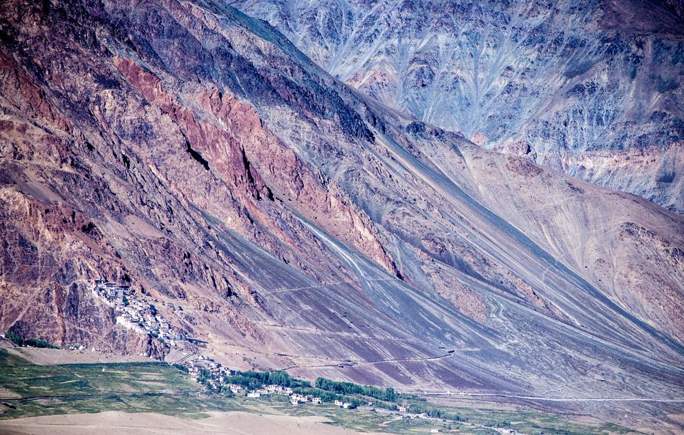 Долина Занскар. Монастырь Курча