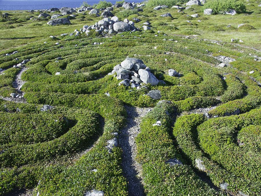 Соловки. Каменные лабиринты, Россия