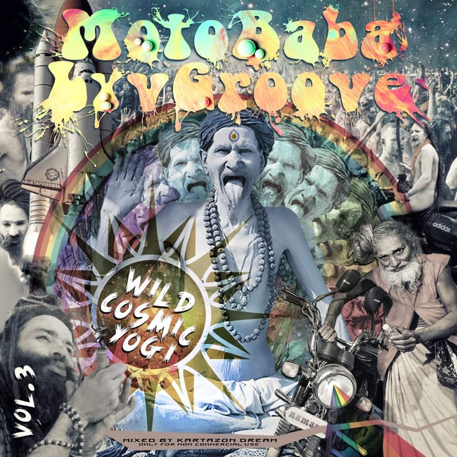 MotoBaba LuvGroove - Vol.3 Wild Cosmic Yogi. Авторские сборники музыки 60-х и 70-х, прогрока и прогфолка