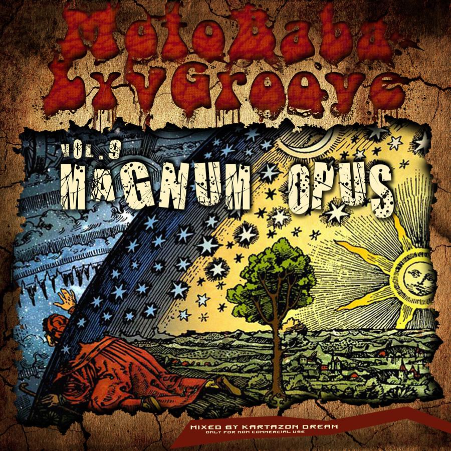 MotoBaba LuvGroove - Vol.9 Magnum Opus. Авторские сборники музыки 60-х и 70-х, прогрока и прогфолка
