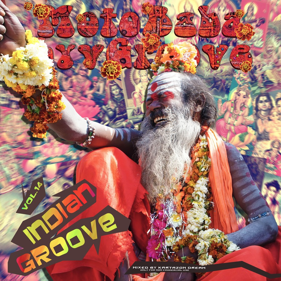 MotoBaba LuvGroove - Vol.14 Indian Groove. Авторские сборники музыки Progressive Rock, Progressive Folk и Progressive Metal