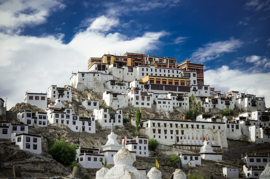 Тикси гомпы. Монастыри Ладакха (Монастыри малого Тибета) © Kartzon Dream - авторские путешествия, авторские туры в Ладакх, тревел фото, тревел видео, фототуры