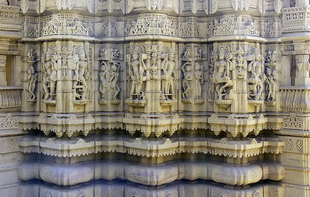 Джайнский храм в Джайсалмере. Тур Краски Раджастана. Холи. Тур в Раджастан, Индия