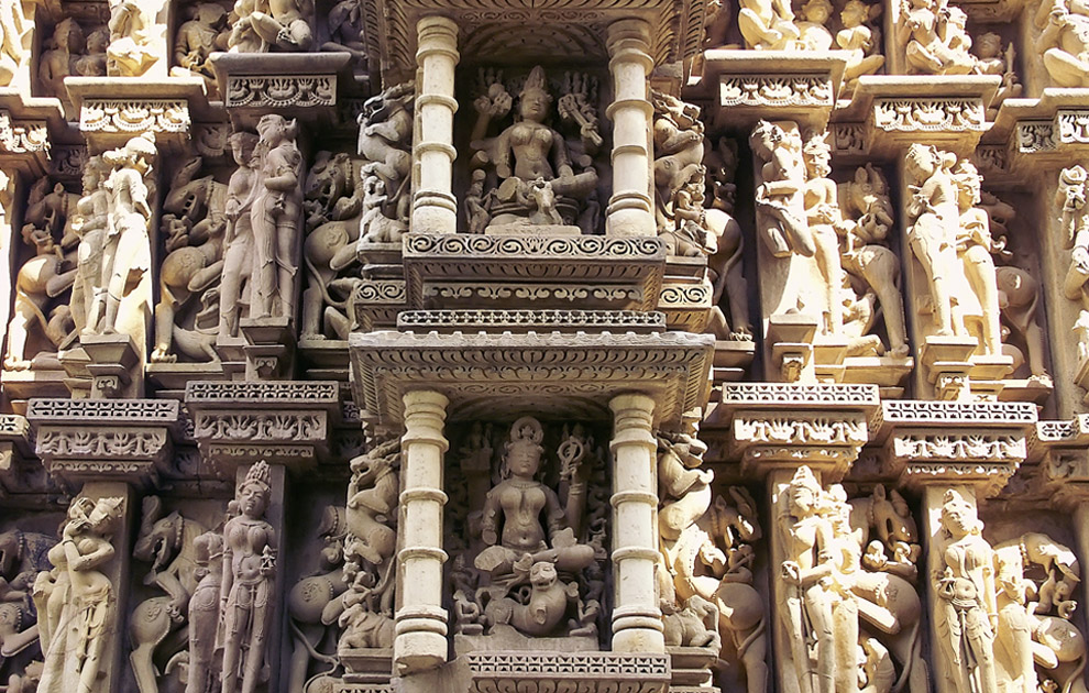 Тантрические Храмы Кхаджурахо, Индия