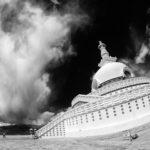 Шанти Ступа, Лех, Ладакх, Индия - Kartzon Dream - тревел фото, тревел видео, авторские путешествия, туры в Индию