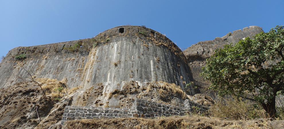 Старый форт, Горы Лонавала, Индия, Мумбаи