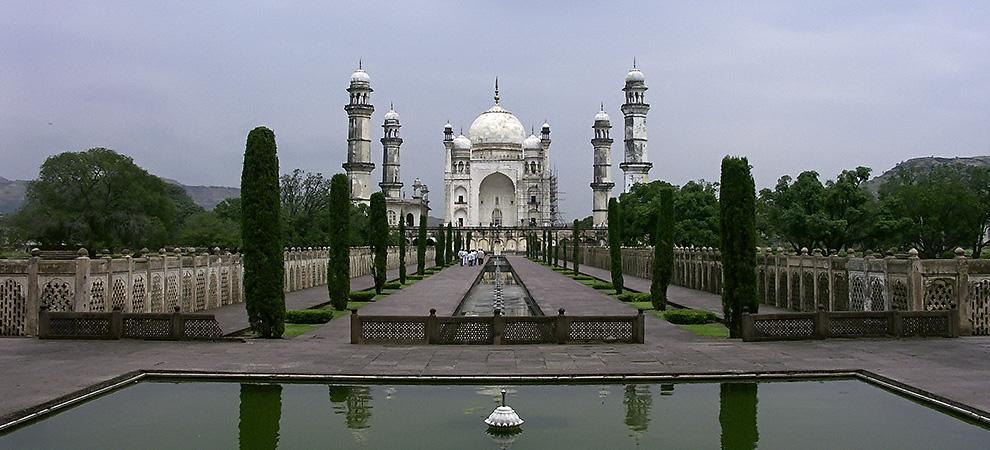 Аурангабад, Бибика Макбар Мандир - Тур в Центральную Индию. Аджанта, Эллора, Хампи