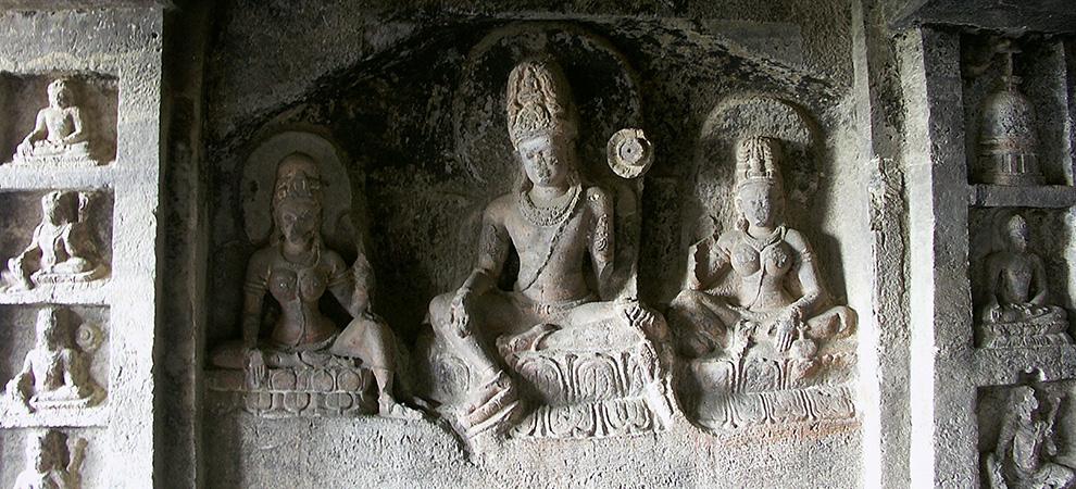 Аурангабад, скальные храмы - Тур в Центральную Индию. Аджанта, Эллора, Хампи